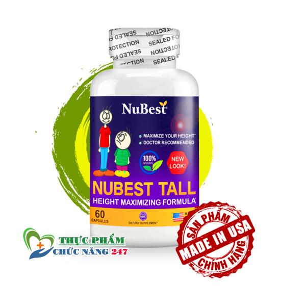 NuBest Tall Viên uống tăng chiều cao của Mỹ chính hãng 100% Gía 1.090.000VNĐ ✅ NuBest Tall giá bao nhiêu ✅ NuBest Tall mua ở đâu