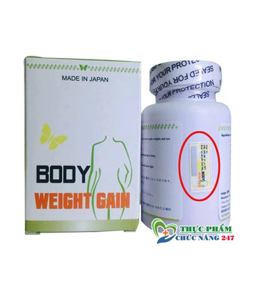 Thuốc uống tăng cân của Nhật Bản Yakuho BODY WEIGHT GAIN