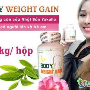 Thuốc tăng cân body weight gain nhật bản: review thuốc tăng cân body weight gain, thuốc tăng cân body weight gain giá bao nhiêu