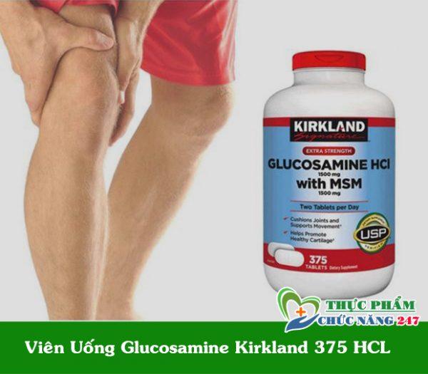 Viên uống bổ xương khớp Glucosamine HCL 1500mg Kirkland Mỹ chính hãng mua ở đâu
