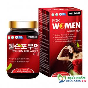 Viên uống tăng cường sinh lý nữ WELSON FOR WOMEN Mua Ở Đâu?